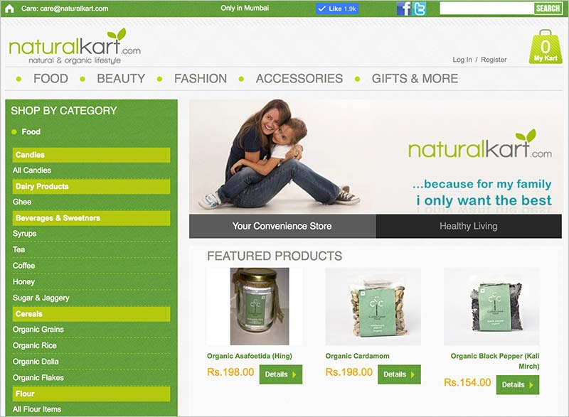 Naturalkart- Natural & Organic Lifestyle